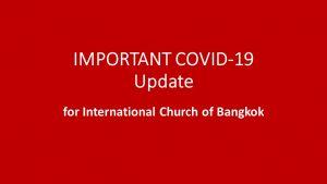 International Church of Bangkok